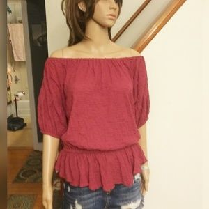 Free People Gypsy top. Sz- Small.